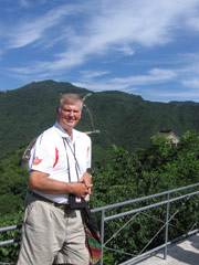 Gord Hume in China